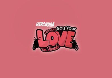 Promo Februari Say Your Love With Honda